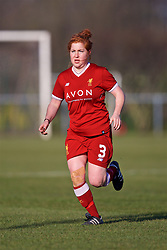 LIVERPOOL, ENGLAND - Sunday, February 4, 2018: Liverpool's Martha Harris during the Women's FA Cup 4th Round match between Liverpool FC Ladies and Watford FC Ladies at Walton Hall Park. (Pic by David Rawcliffe/Propaganda)