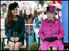 The Queen and The Duchess of Cambridge