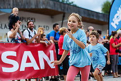 Recreational run for children over 6 years at 12th Nocna 10ka 2018, traditional running around Bled's lake, on July 14, 2018 in Bled, Slovenia. Photo by Grega Valancic / Sportida