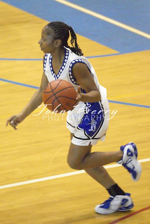 Varsity Girls Basketball..vs Clarke..January 13, 2005