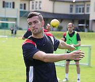 Dundee new boy Michael Duffy - Day 2 of Dundee FC pre-season training camp in Obertraun, Austria<br /> <br />  - &copy; David Young - www.davidyoungphoto.co.uk - email: davidyoungphoto@gmail.com