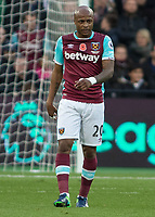Football - 2016 / 2017 Premier League - West Ham United vs. Stoke City<br /> <br /> Andre Ayew of West Ham  at The London Stadium.<br /> <br /> COLORSPORT/DANIEL BEARHAM