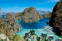 Kayagan Lake, off coast of Coron, Philippines. Copyright 2015 Reid McNally.