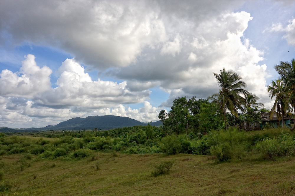 Countryside near Cabanas, Artemisa, Cuba.