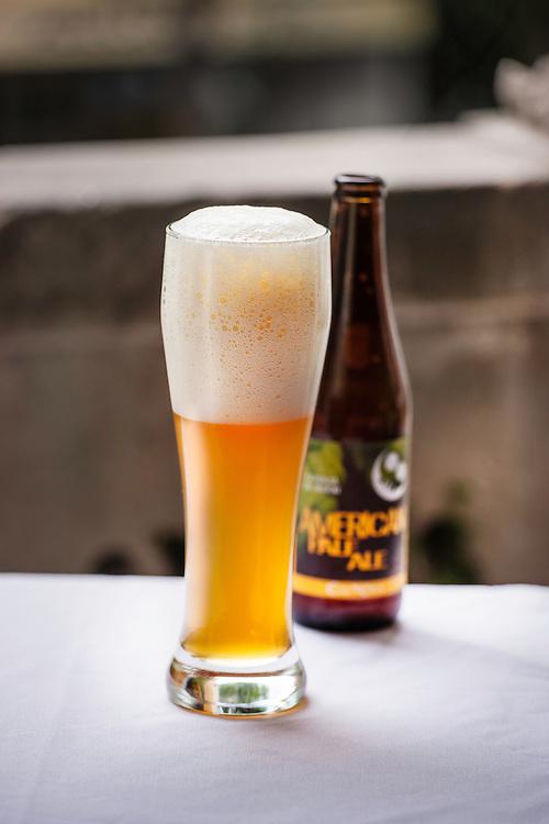 Cerveza artesanal en el Rosetta. Artisanal beer at Rosetta.