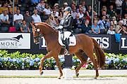 Hana Vasaryova - Santos Dumont<br /> Longines FEI/WBFSH World Breeding Dressage Championships for Young Horses 2016<br /> © DigiShots