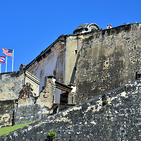 Castillo San Cristóbal in San Juan, Puerto Rico<br />