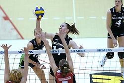 05-03-2006 VOLLEYBAL: FINAL 4 DAMES:  HCC MARTINUS - PLANTINA LONGA: ROTTERDAM<br /> In een mooie finale was Martinus in 4 sets te sterk voor Longa / Carlijn Jans <br /> Copyrights2006-WWW.FOTOHOOGENDOORN.NL