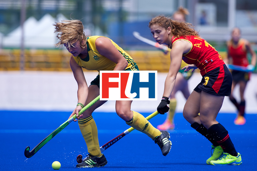 RIO 2016 Olympic qualification, Hockey, Women, match for 5th/8th place, South Africa vs Spain :  Erin Hunter