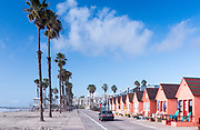 Beachfront Pink Cottage Rentals In Oceanside California