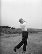 23/06/1959<br /> 06/23/1959<br /> 23 June 1959 <br /> Irish Amateur Close Golf Championships at Portmarnock, Dublin. I.A. Nesbitt, (Malone Golf Club) driving off the 10th tee during his third round match against M. Craddock (Malahide).