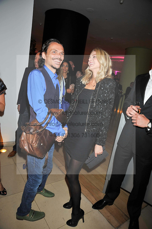 MATTHEW WILLIAMSON and DONNA AIR at the St.Martins Lane Hotel 10th year bash held on 9th September 2009.