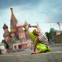 Yoga in Moscow