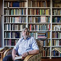 Nederland, Voorburg, 13 mei 2016.<br /> Jan Gielkens heeft de Filter Vertaalprijs gewonnen voor zijn overzetting van Grimms W&ouml;rter vanuit het Duits naar het Nederlands.<br /> <br /> <br /> <br /> Foto: Jean-Pierre Jans