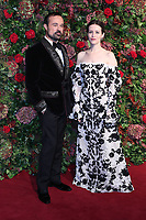 Evgeny Lebedev, Claire Foy, 64th Evening Standard Theatre Awards, Theatre Royal Drury Lane, London UK, 18 November 2018, Photo by Richard Goldschmidt
