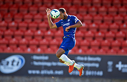 LONDON, ENGLAND - Saturday, September 29, 2018: Chelsea's captain Joshua Grant during the Under-23 FA Premier League 2 Division 1 match between Chelsea FC and Liverpool FC at The Recreation Ground. (Pic by David Rawcliffe/Propaganda)