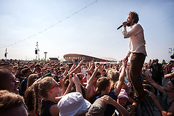 Client LLDC: Summer Stampede music Festival. Queen Elizabeth Olympic Park. Photo: Anthony Charlton
