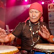 NLD/Huizen/20100917 - South Sea Jazz Huizen 2010, optreden Massada, Nippy Noya