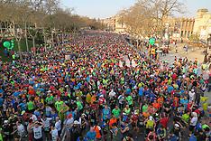 Spain Barcelona Marathon 2017