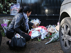 Fans Pay Tribute to George Michael at his London home also worlds media gathers to cover the very sad event.<br /> 26 Dec 2016<br /> Pictured: George Michael trubutes.<br /> Photo credit: abc / MEGA<br /> <br /> TheMegaAgency.com<br /> +1 888 505 6342