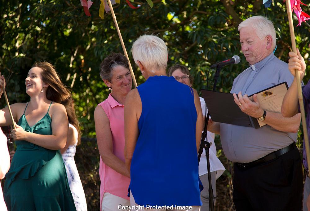 Elaine and Joy's wedding in Seattle, Saturday, Sept. 2, 2017. (Photo/John Froschauer)