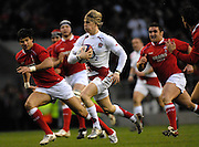 Twickenham, GREAT BRITAIN, David STRETTLE breaks through during the 2008 Six Nations Rugby Championship, England vs Wales at the RFU Stadium. 02.02.2008. [Mandatory Credit Peter Spurrier/Intersport Images]