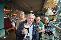 Allyson Steenson, John Lee Snr and John Lee Jnr and Eilis Hill pictured at the Guinness Storehouse, celebrating talent and creativity on Arthur's Day 2013. Picture Andres Poveda