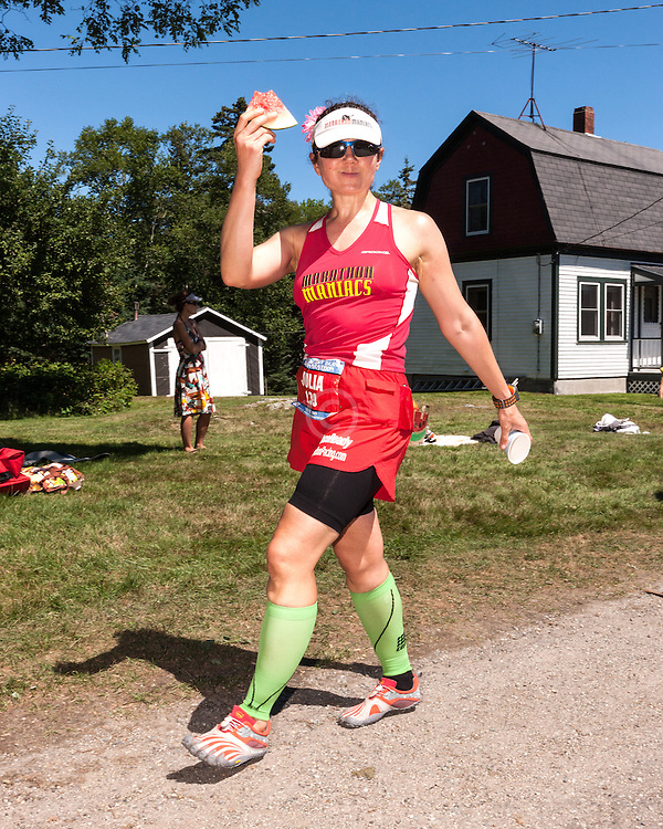 Great Cranberry Island Ultra 50K road race: Julia