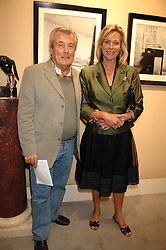 Photographer TERRY O'NEILL and his wife LARAINE Private view of 'Terence Donovan: Image Maker And Innovator' at the Chris Beetles Gallery, 8 & 10 Ryder Street, London SW1 on 17th September 2007.<br />