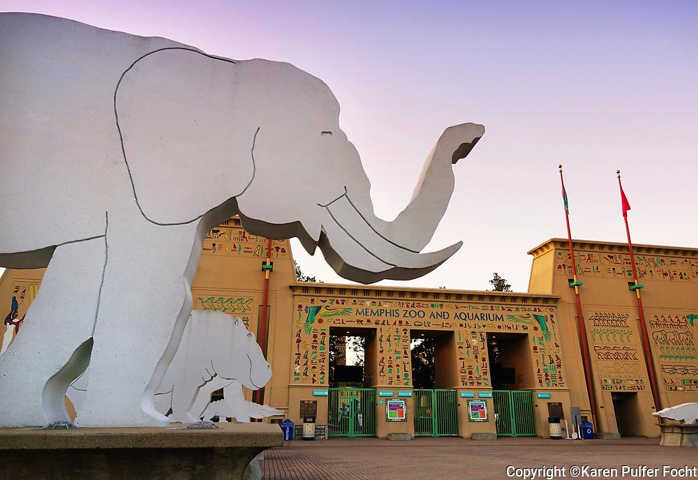 Memphis Zoo © Karen Pulfer Focht-