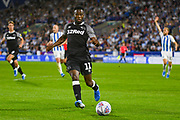 Florian Jozefzoon of Derby County (11) in action during the EFL Sky Bet Championship match between Huddersfield Town and Derby County at the John Smiths Stadium, Huddersfield, England on 5 August 2019.