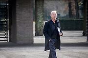 Uitvaart Mies Bouwman in een crematorium in Leusden.<br /> <br /> Op de foto:  Cor Bakker