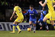 Gillingham FC midfielder Bradley Dack (23) during the EFL Sky Bet League 1 match between Gillingham and AFC Wimbledon at the MEMS Priestfield Stadium, Gillingham, England on 21 February 2017.