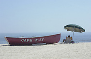 start of the Memorial Day weekend, on the beach, Friday, May 24, 2002, in Cape May, N.J. (Photo by William Thomas Cain/photodx.com)