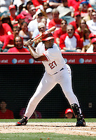 May 5, 2007: Angels right fielder Vladimir Guerrero #27 at bat during the game as the Chicago White Sox defeated the Los Angeles Angels of Anaheim 6-3 in regulation at Anaheim Stadium in Anaheim, CA..
