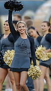 WEST LAFAYETTE, IN - SEPTEMBER 15: A Purdue Boilermakers cheerleader is seen during the game against the Missouri Tigers at Ross-Ade Stadium on September 15, 2018 in West Lafayette, Indiana. (Photo by Michael Hickey/Getty Images) NCAA Football - Purdue Boilermakers vs Missouri Tigers at Ross-Ade Stadium in West Lafayette, Indiana. Sports photographer by Michael Hickey