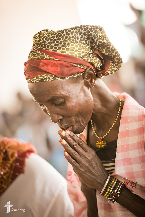 Photographs at the Lokichar Lutheran congregation of the Evangelical Lutheran Church in Kenya on Thursday, Oct. 15, 2015, in Lokichar, Kenya. LCMS Communications/Erik M. Lunsford