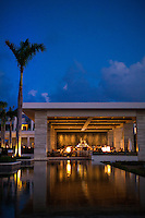 Anguilla - January 5, 2015: With it's hyper-modern design aesthetic and picturesque perch, the Sunset Lounge at the Viceroy Anguilla is an ideal place enjoy the end of the day. CREDIT: Chris Carmichael for The New York Times