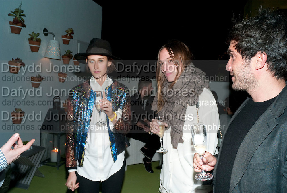 CLARA CULLEN; MIRABELLE MARDEN; MAX FARRAGO, LVMH and Interview MagazineÕs dinner. Solarium at Delano. Miami Beach. 2 December 2010. -DO NOT ARCHIVE-© Copyright Photograph by Dafydd Jones. 248 Clapham Rd. London SW9 0PZ. Tel 0207 820 0771. www.dafjones.com.<br /> CLARA CULLEN; MIRABELLE MARDEN; MAX FARRAGO, LVMH and Interview Magazine's dinner. Solarium at Delano. Miami Beach. 2 December 2010. -DO NOT ARCHIVE-© Copyright Photograph by Dafydd Jones. 248 Clapham Rd. London SW9 0PZ. Tel 0207 820 0771. www.dafjones.com.