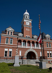 Elbert County Courthouse, located downtown Elberton, Georgia in the northeastern part of the state near South Carolina.