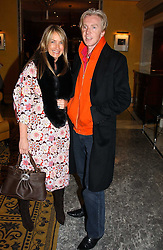 ANYA HINDMARCH and PHILIP TREACY at the launch of MAC's High Tea collection with leading British designers held at The Berkeley Hotel, London on 17th January 2005.  MAC has collabroated with The Berkeley's Pret-a-Portea, which adds a creative twist to th classic elements of the English afternoon tea with cakes and pastries inspired by fashion designs.<br />
