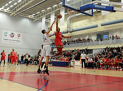 Bristol Flyers' Greg Streete scores   - Photo mandatory by-line: Joe Meredith/JMP - Mobile: 07966 386802 - 21/11/2014 - Sport - Basketball - Bristol - SGS Wise Campus - Bristol Flyers v Surrey United - British Basketball League