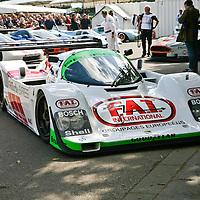 #7 Porsche 962 011 Joest Racing  (Drivers:Sullivan/Haywood/Robinson/Pescarolo) here at Goodwood FOS 2008