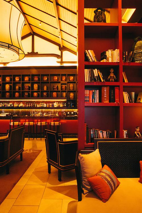 Thu Quan library bar at Banyan Tree Lang Co, Central Vietnam