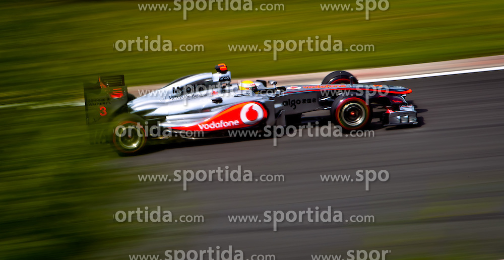 29.07.2011, Hungaroring, Budapest, HUN, F1, Grosser Preis von Ungarn, Hungaroring, im Bild Lewis Hamilton (GBR), McLaren-Mercedes // during the Formula One Championships 2011 Hungarian Grand Prix held at the Hungaroring, near Budapest, Hungary, 2011-07-29, EXPA Pictures © 2011, PhotoCredit: EXPA/ J. Feichter