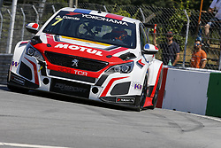 June 23, 2018 - Vila Real, Vila Real, Portugal - Aurelien Comte from Italy in PEUGEOT 308TCR of DG Sport Competition during the Race 1 of FIA WTCR 2018 World Touring Car Cup Race of Portugal, Vila Real, June 23, 2018. (Credit Image: © Dpi/NurPhoto via ZUMA Press)