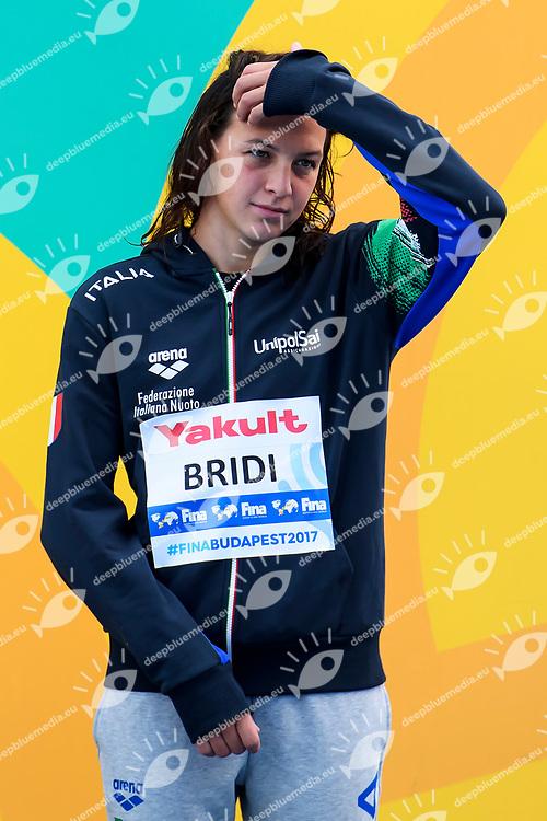 BRIDI Arianna ITA Bronze medal <br /> Women's 10Km <br /> Open Water Swimming Balatonfured<br /> Day 03  16/07/2017 <br /> XVII FINA World Championships Aquatics<br /> Lake Balaton Budapest Hungary  <br /> Photo Andrea Staccioli/Deepbluemedia/Insidefoto