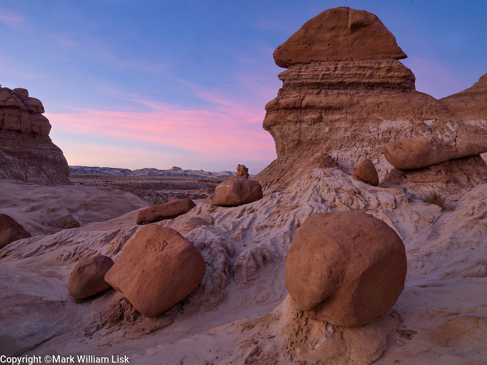 Hoodoos in Goblin Valley, San Rafael Swell, Utah.