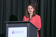 Advisen presents the Casualty Insights Conference on March 29, 2018. Lisa Kerr, VP Risk Management, Henry Schein Inc.(Photo: www.JeffreyHolmes.com)