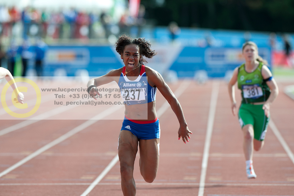 FRANCOIS-ELIE Mandy, JAMESON Heather, 2014 IPC European Athletics Championships, Swansea, Wales, United Kingdom